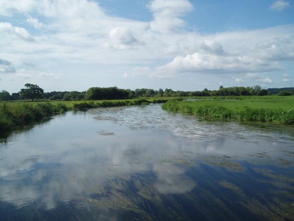 The River Avon.