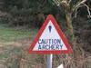 An archery sign.