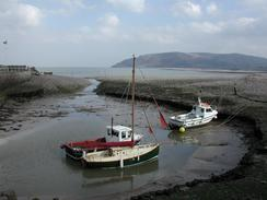 P20032210054	Boats at Porlock Weir.
