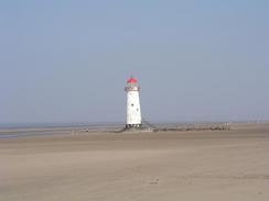 P20034161593	The lighthouse at Point of Ayr.