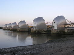 P2006B186398	The Thames Barrier.