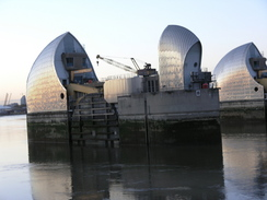 P2006B186407	The Thames Barrier.