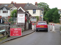 veals lane level crossing