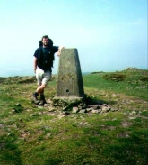 N02	Myself at the trig point on Beacon Hill.