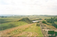 ZZ22	Hadrian's Wall, looking west over the quarry from near Turret 41B.