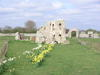 The ruins of Dunwich Friary.